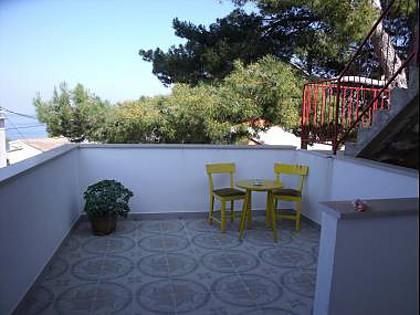 SA1(2): terrace - 35260  SA1(2) - Stomorska - Stomorska - rentals