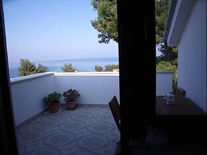A2(2+1): terrace - 35260  A2(2+1) - Stomorska - Stomorska - rentals