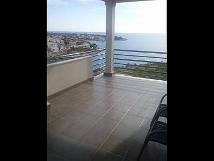 A2 Prvi kat (2+2): terrace - 35303 A2 Prvi kat (2+2) - Cove Kanica (Rogoznica) - Cove Kanica (Rogoznica) - rentals