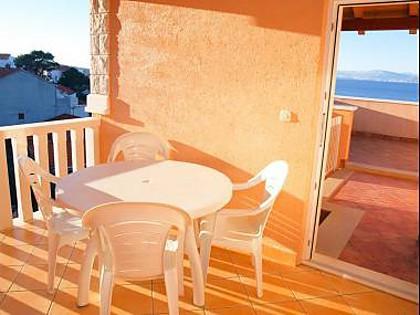 A14(4+2): terrace - 35328  A14(4+2) - Postira - Postira - rentals