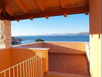 A15(4+2): terrace - 35328  A15(4+2) - Postira - Postira - rentals