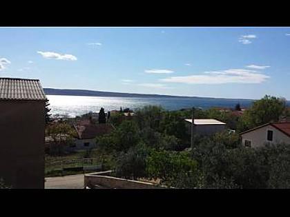 A1(4+1): terrace view - 35347  A1(4+1) - Starigrad-Paklenica - Starigrad-Paklenica - rentals