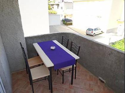 A1(3+2): terrace - 35371 A1(3+2) - Podstrana - Podstrana - rentals