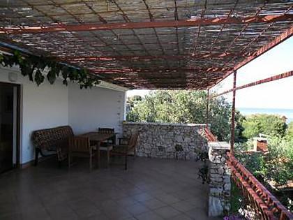 A2 oranz(4): terrace - 00306RAZA A2 oranz(4) - Cove Stivasnica (Razanj) - Cove Stivasnica (Razanj) - rentals