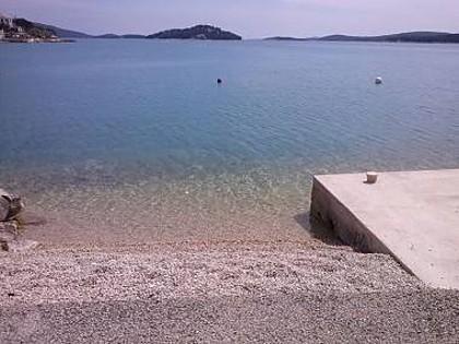 beach - 35380 A1(2+1) - Tisno - Tisno - rentals