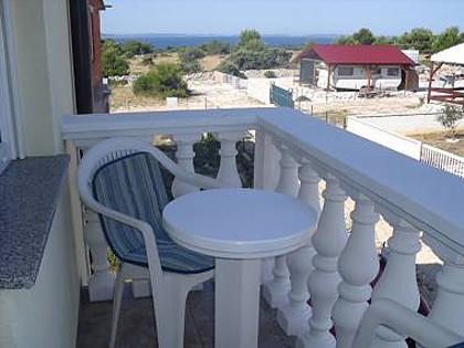 A1(2+2): terrace - 35409 A1(2+2) - Vir - Vir - rentals
