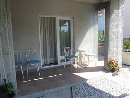 A1 plavi(2+2): terrace - 35475 A1 plavi(2+2) - Brist - Brist - rentals