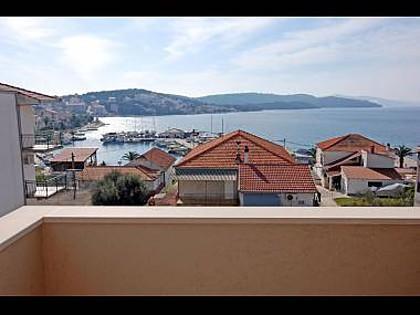 A3(4+2): terrace view - 5634 A3(4+2) - Okrug Gornji - Okrug Gornji - rentals
