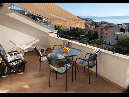 A3(4+2): terrace - 35494 A3(4+2) - Tucepi - Tucepi - rentals