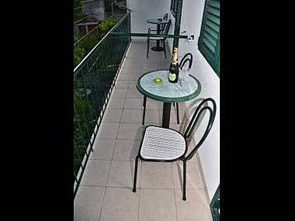 A2(4): balcony - 35519  A2(4) - Makarska - Makarska - rentals