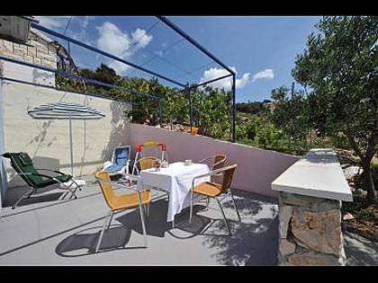A1(2+2): terrace - 35603 A1(2+2) - Bojanic Bad - Cove Jagodna (Sveta Nedjelja) - rentals