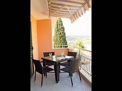 A2(4): terrace - 35615 A2(4) - Okrug Gornji - Okrug Gornji - rentals