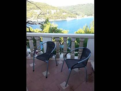 A1(4+1): terrace - 35627 A1(4+1) - Pucisca - Pucisca - rentals