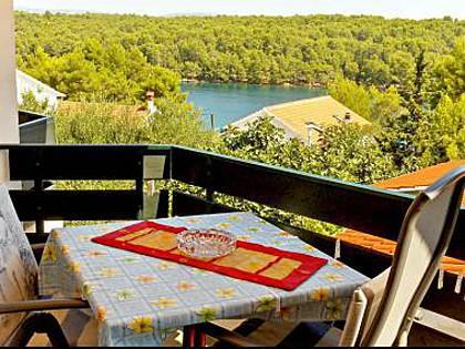 A4(2): balcony - 1746 A4(2) - Vrboska - Vrboska - rentals