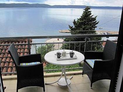 A1(2+1): balcony - 1899 A1(2+1) - Zivogosce - Zivogosce - rentals