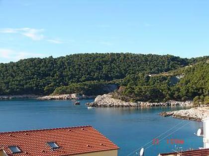 SA2(2+1): balcony view - 1969 SA2(2+1) - Milna (Hvar) - Milna - rentals