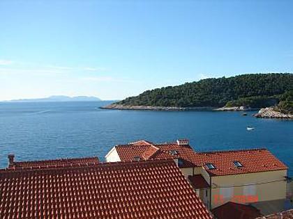 SA4(2+1): balcony view - 1969 SA4(2+1) - Milna (Hvar) - Milna - rentals