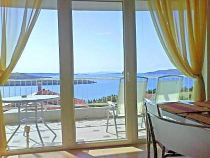 A2 (2+2): terrace - 2055 A2 (2+2) - Seget Donji - Seget Donji - rentals