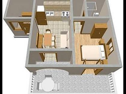 A3(2+2): floor plan - 2112 A3(2+2) - Novi Vinodolski - Novi Vinodolski - rentals