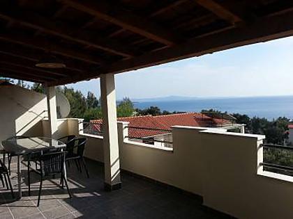 A3(4+2): terrace - 2176 A3(4+2) - Ivan Dolac - Ivan Dolac - rentals