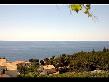 A7(2+2): terrace view - 2176 A7(2+2) - Ivan Dolac - Ivan Dolac - rentals