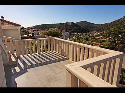 A1(8): terrace - 2195 A1(8) - Hvar - Hvar - rentals