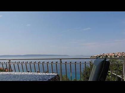 A1 Veliki gornji (4+1): terrace view - 2229  A1 Veliki gornji (4+1) - Okrug Gornji - Okrug Gornji - rentals