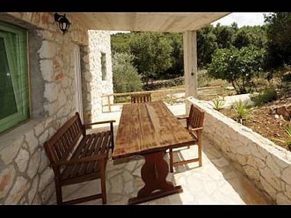 A2(2+2): covered terrace - 2271  A2(2+2) - Scedro (Island Scedro) - Island Scedro - rentals