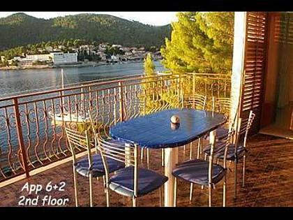 A2(6+2): terrace view - 2308 A2(6+2) - Brna - Brna - rentals