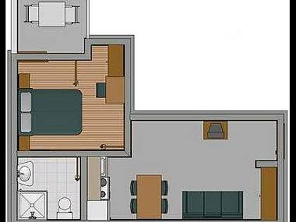 E(2+1): apartment - 2338  E(2+1) - Baska Voda - Baska Voda - rentals