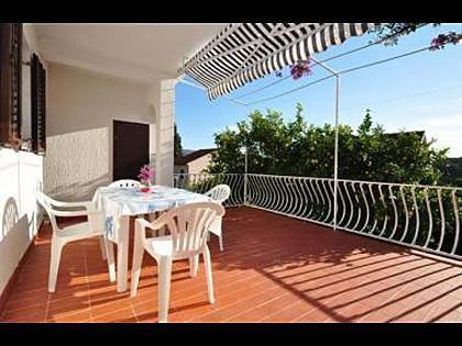 A2(2+2): terrace - 2358 A2(2+2) - Milna (Brac) - Milna (Brac) - rentals