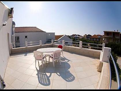 A12 (4+2): terrace - 2442 A12 (4+2) - Pirovac - Pirovac - rentals