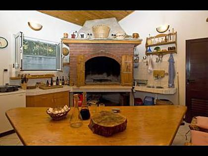 H(6+2): fireplace - 2443  H(6+2) - Krilo Jesenice - Krilo Jesenice - rentals