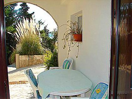 A2(4+2): covered terrace - 01612TROG A2(4+2) - Trogir - Trogir - rentals