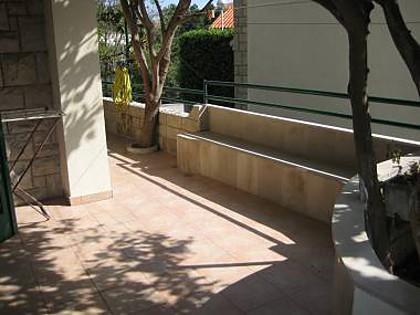 A1(2): terrace - 2489 A1(2) - Makarska - Makarska - rentals