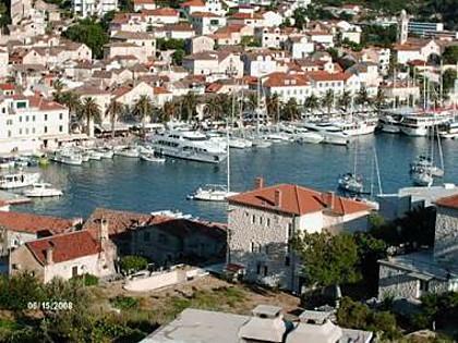 A4(2): terrace view - 02203HVAR A4(2) - Hvar - Hvar - rentals