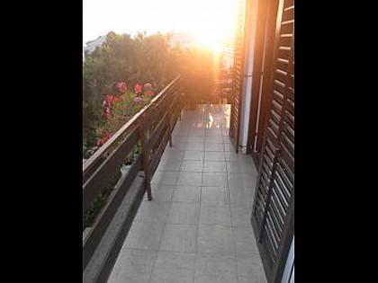 A1(3+2): balcony - 2523 A1(3+2) - Petrcane - Petrcane - rentals