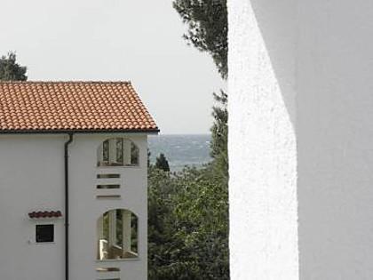 A4(2+2): terrace view - 2556 A4(2+2) - Petrcane - Petrcane - rentals