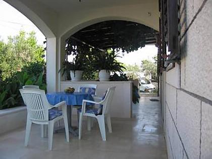 A2(4): covered terrace - 2597 A2(4) - Supetar - Supetar - rentals