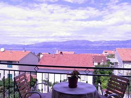 A1(6): terrace - 2606  A1(6) - Supetar - Supetar - rentals