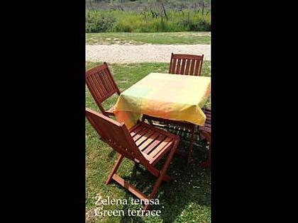 SA3(2+1): garden terrace - 2641 SA3(2+1) - Zaton (Zadar) - Zaton (Zadar) - rentals