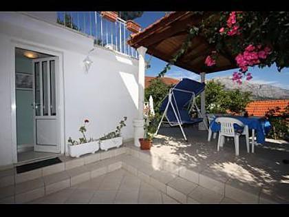 Green(2+1): terrace - 039KORC Green(2+1) - Korcula - Korcula - rentals