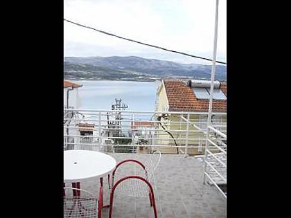 A2(2+2): terrace view - 0812ARBA A2(2+2) - Mastrinka - Mastrinka - rentals