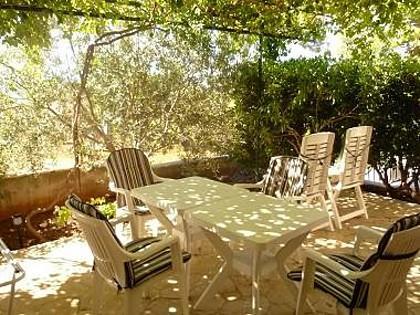 A1(2+2): garden terrace - 00303IVAN  A1(2+2) - Ivan Dolac - Ivan Dolac - rentals