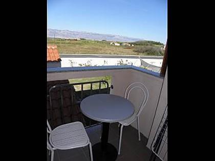 A3(2+1): terrace - 2702 A3(2+1) - Privlaka - Privlaka - rentals