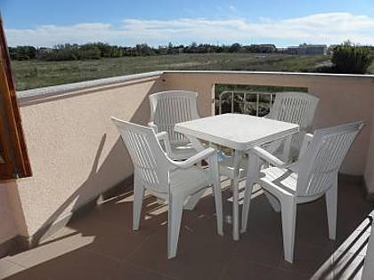 A5(2+2): terrace - 2702 A5(2+2) - Privlaka - Privlaka - rentals