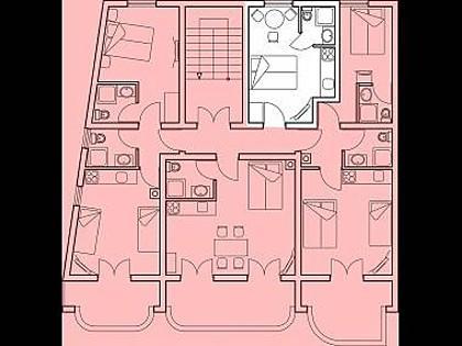 Nina 2.kat(2): detail - 2730  Nina 2.kat(2) - Povljana - Povljana - rentals