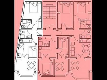 Marija 2.kat(3+2): detail - 2730  Marija 2.kat(3+2) - Povljana - Povljana - rentals