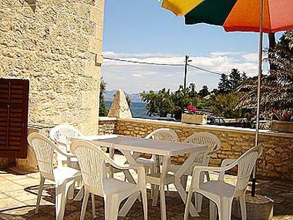 A1(6+2): garden terrace - 01501SUTI A1(6+2) - Sutivan - Sutivan - rentals