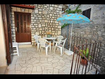 A2(6): terrace - 01501SUTI A2(6) - Sutivan - Sutivan - rentals